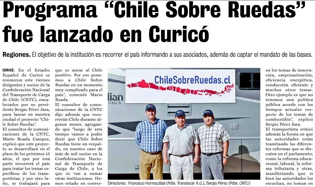 Diario La Prensa Curicó Crónica